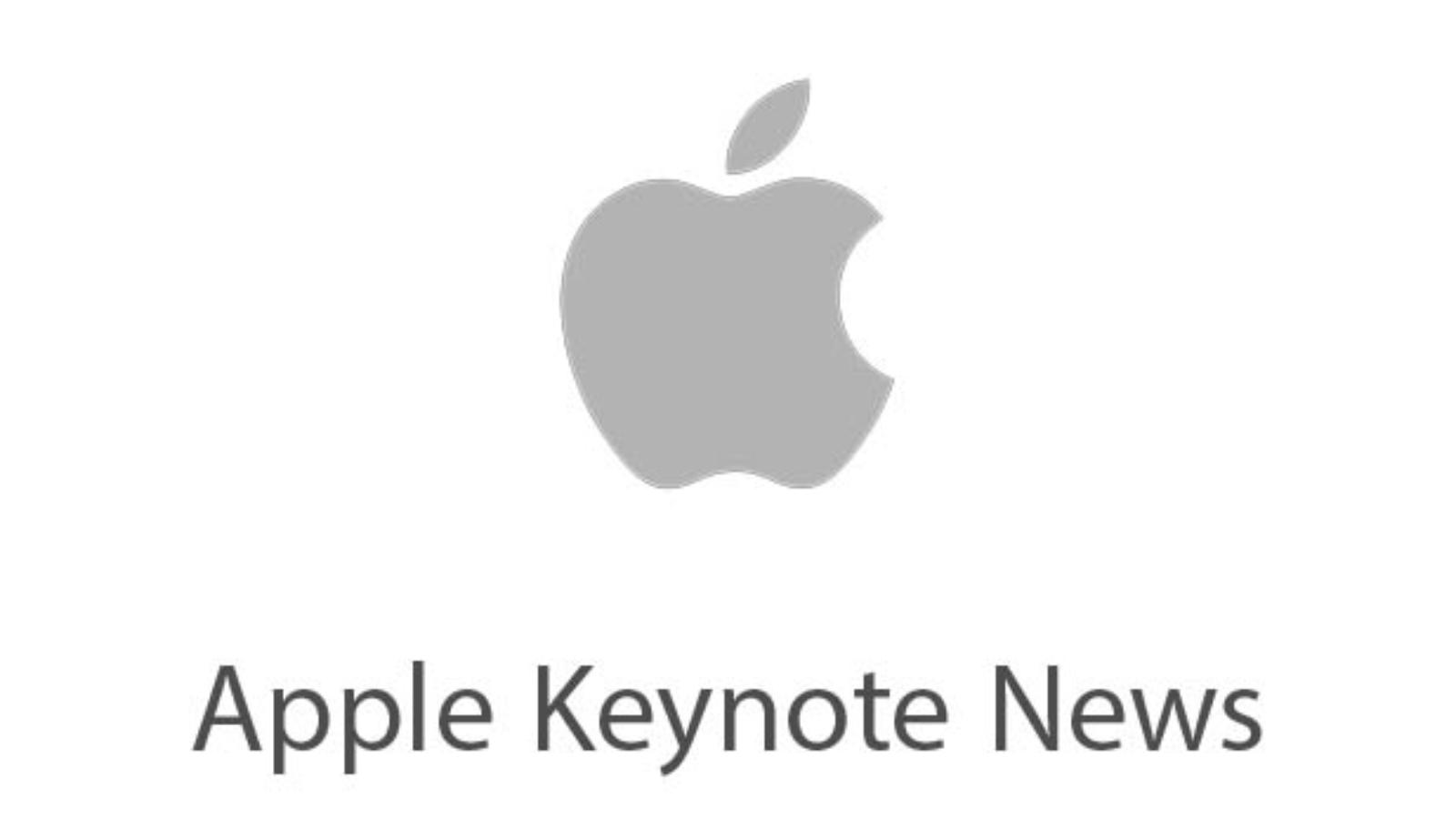 Apple-Keynote-News